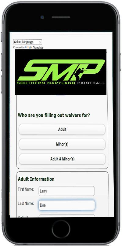 Do your SMP Waiver on your phone