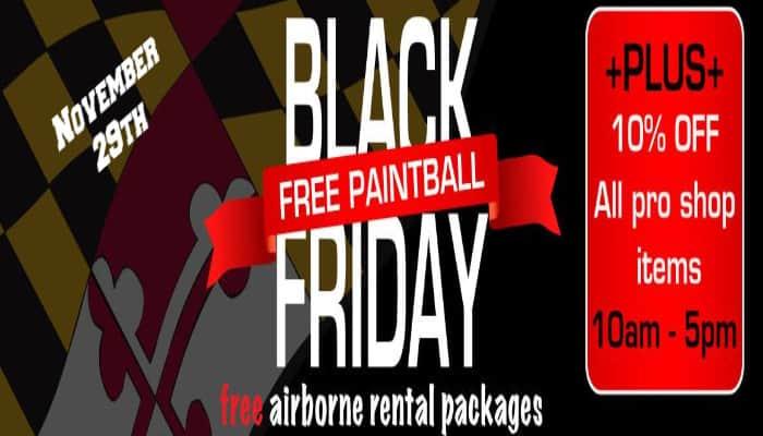 Black Friday Paintball