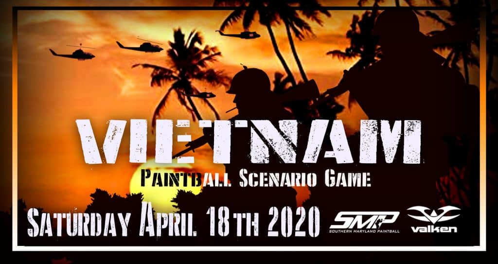 April paintball event at SMP