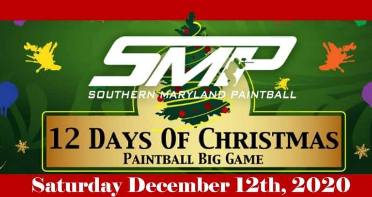 Christmas Paintball at SMP