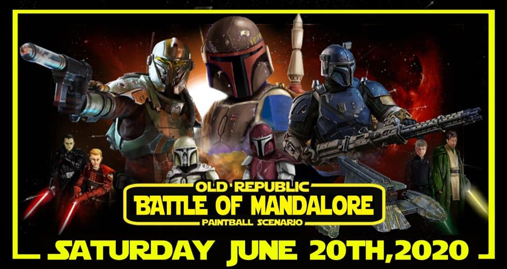 June Paintball Event at SMP