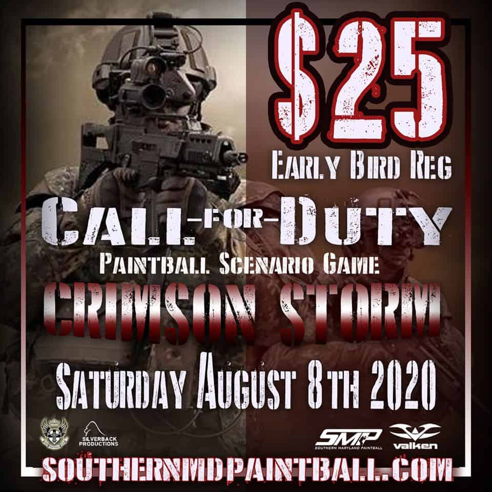 call for duty paintball scenario at SMP